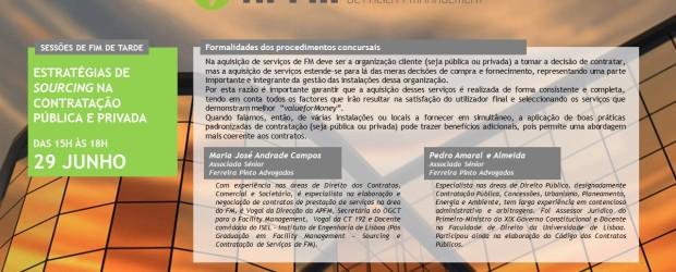 Estratégias de sourcing na contratação pública e privada dos serviços Facility Management
